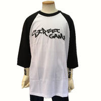 STREET GAME Raglan Tee / TAG (Heavy Weight)