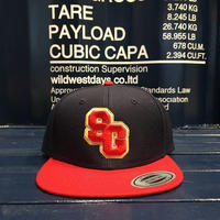 "STREET GAME CAP  ""SG"" (Navy/Red)"