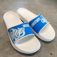 WILDWESTDAYS Slipper / 01 (White / Sky Blue)