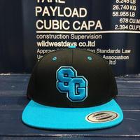 "STREET GAME CAP ""SG"" (Black/Turquoise)"