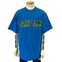 STREET GAME T-Shirts / ICE (Heavy Weight) (turquoise / neon yellow)