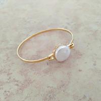 pearly white summer bangles パーリーホワイトサマーバングル