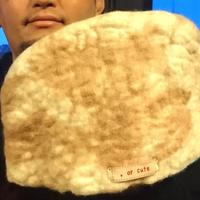 【オルカ宇藤ブランド】サウナハット・マーブル(羊毛100%)