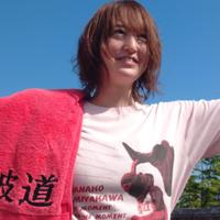 【Tシャツ】★ピンク★熱波師・宮川はなこ その想い、熱い熱いその一瞬「The Moment Of The Moment」Tシャツ