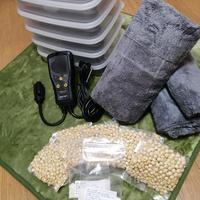 テンペ手作り大型セット「テンペ約9.6kg分の材料+(進呈)大型テンペメーカー」