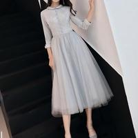 Aライン エレガント 結婚式ドレス キャバドレス パーティー 2次会