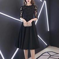 [ New ]medium wedding-dress flower 膝丈
