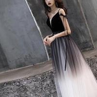 ロング丈 エレガント ドレス オフショルダー風 チュール 結婚式 キャバドレス