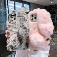 iphoneカバー ケース iphone11 スマホケース ウサギ モコモコ