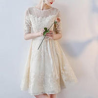【 New 】flower elegant dress wedding
