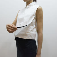 Linear wrap shirt