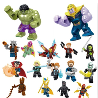 レゴ風 レゴ互換 LEGO レゴ アベンジャーズ エンドゲーム アイアンマン 16体セット