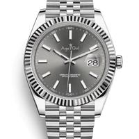 高級腕時計 AGEGIRL デイトジャスト 高級ブランドオマージュモデル 人気のコンビカラー ハイエンドタイプ シルバー ブラック ゴールド