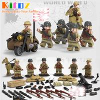 レゴ互換 レゴ レゴ風 LEGO 特殊部隊 旧日本軍6体セット 武器多数