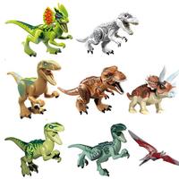 レゴ互換 レゴ レゴ風 LEGO 恐竜 ダイナソー ジュラシックワールド 8体セット