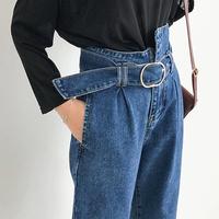 ワイドパンツ ジーンズ デニム 通販 格安 ハイウエスト レディース 韓国 ファッション オルチャン レトロ