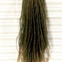 ロング付け毛  エクステ ダンス ドレッド 三つ編み ウィッグ ヘアアクセサリー