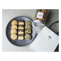 ホワイトデー限定【ホワイトデー仕様ラッピング】円筒容器入りクッキー12個入り(3種類×4個)
