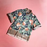 H/H print half sleeve shirts