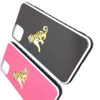 ひょうのシャイン 背面ガラスケース  iphoneシリーズ用