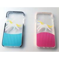 ユー二ィの  バンパークリアケース iphone11/11 pro/11 pro Max用