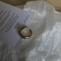 bb. ss ring /light gold