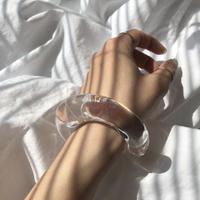 re bangle / clear