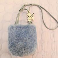 Boa Bag (Blue)