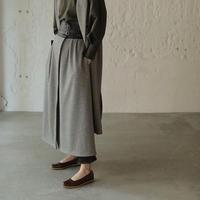 【CNLZ】High Waist Wrapped Skirt  Ⅱ/ シーエヌエルゼット ハイウエストラップスカート Ⅱ