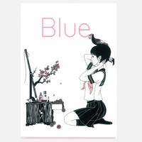 クリアファイルK(Blue)