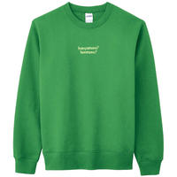 """honnmono"" Crew neck Trainer"