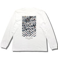 """honmono"" Long Sleeve T-shirt【交差】"