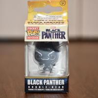 FUNKO POP!  BLACK PANTHER ミニフィギュアキーホルダー