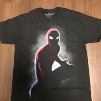 SPIDERMAN HOMECOMING  シルエットTシャツ