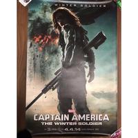 CAPTAIN AMERICA THE WINTER SOLDIER ポスター