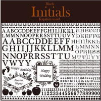 【kapilina.maid転写紙】Initials &Framesセット