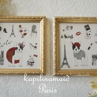 【kapilinamaid転写紙】Paris