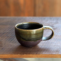 壷田 和宏・亜矢  チャイカップ 茶 b