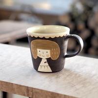 増永 典子 女の子カップ 茶 3