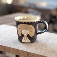 増永 典子 女の子カップ 茶 1