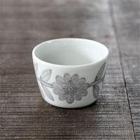 堀江陶器 デイジー フリーカップ グレー