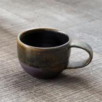 壷田和宏・亜矢 チャイカップ 茶 a