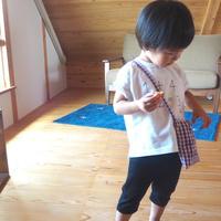 CLOUDY,FINE LATER すうじ刺繍Tシャツ 522-067006