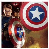 アベンジャーズ メタル 1:1 キャプテンアメリカシールド 62センチ コスプレ 衣装 おもちゃ ハロウィン
