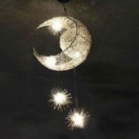 ホーム照明 ledシャンデリア 現代のムーンスター 天吊り照明器具