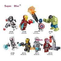 LEGO風 レゴ互換 アベンジャーズ 8体セット 15パターンから選択可能