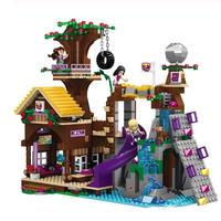 LEGO レゴ フレンズ 41122 互換 アドベンチャーキャンプ ツリーハウス ミニフィグ付き