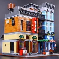 LEGO互換 レゴ クリエーター 探偵事務所 10246 Creator Detective's Office