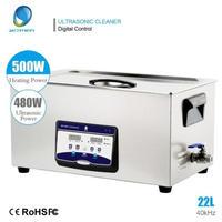 超音波洗浄器 22L デジタル ヒーター/タイマー付き 業務用 超音波クリーナー