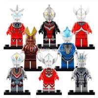 レゴ互換 ウルトラマン ミニフィグ 10種類から選択 バルタン星人など LEGO風